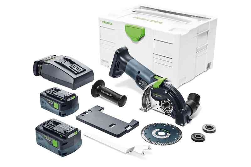 Festool Diamantkap 18 V DSC-AGC 18-125 FH Li 5,2 EBI-Plus