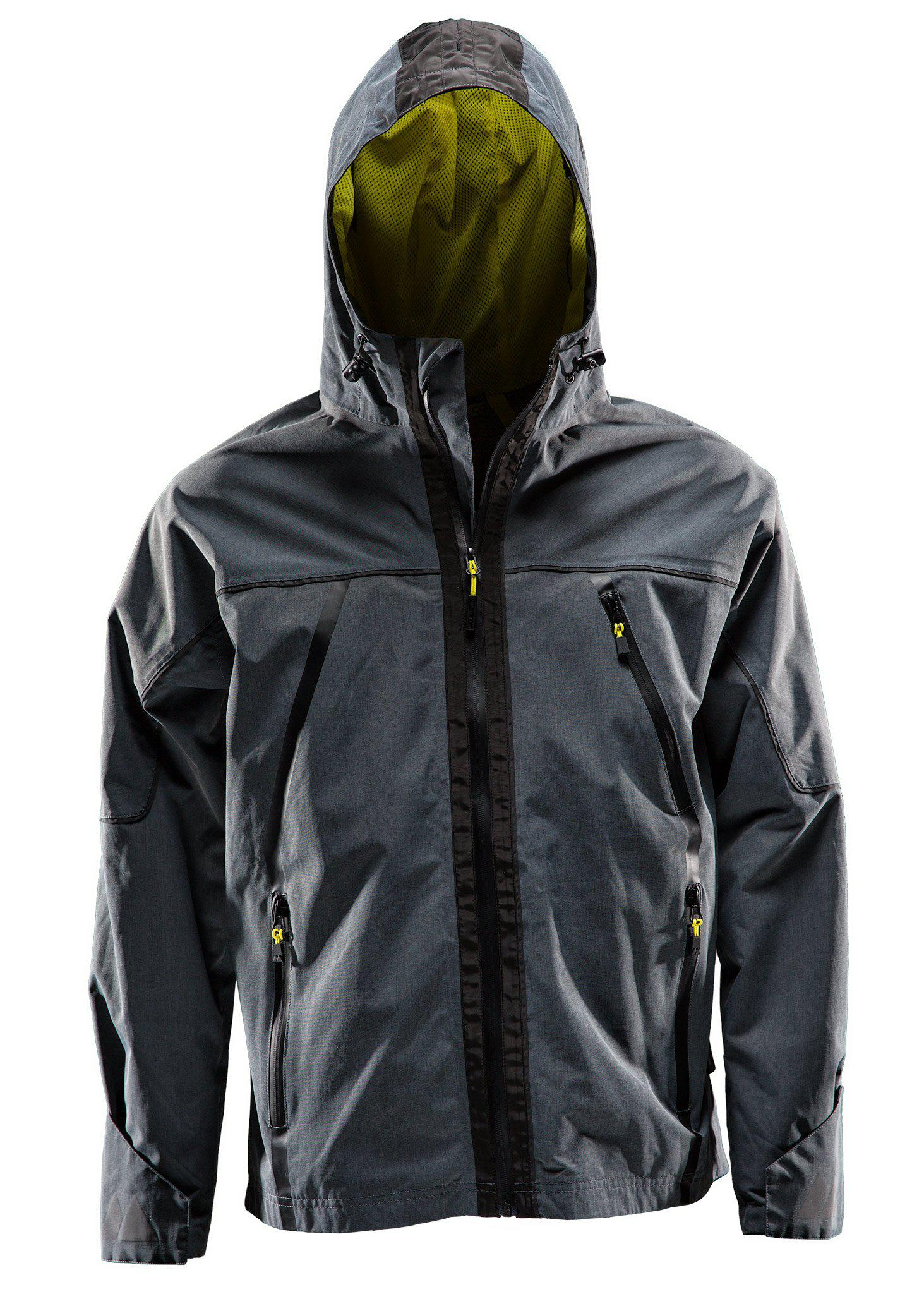 Shell jacket, Wind jacket, Anthracite grey, L