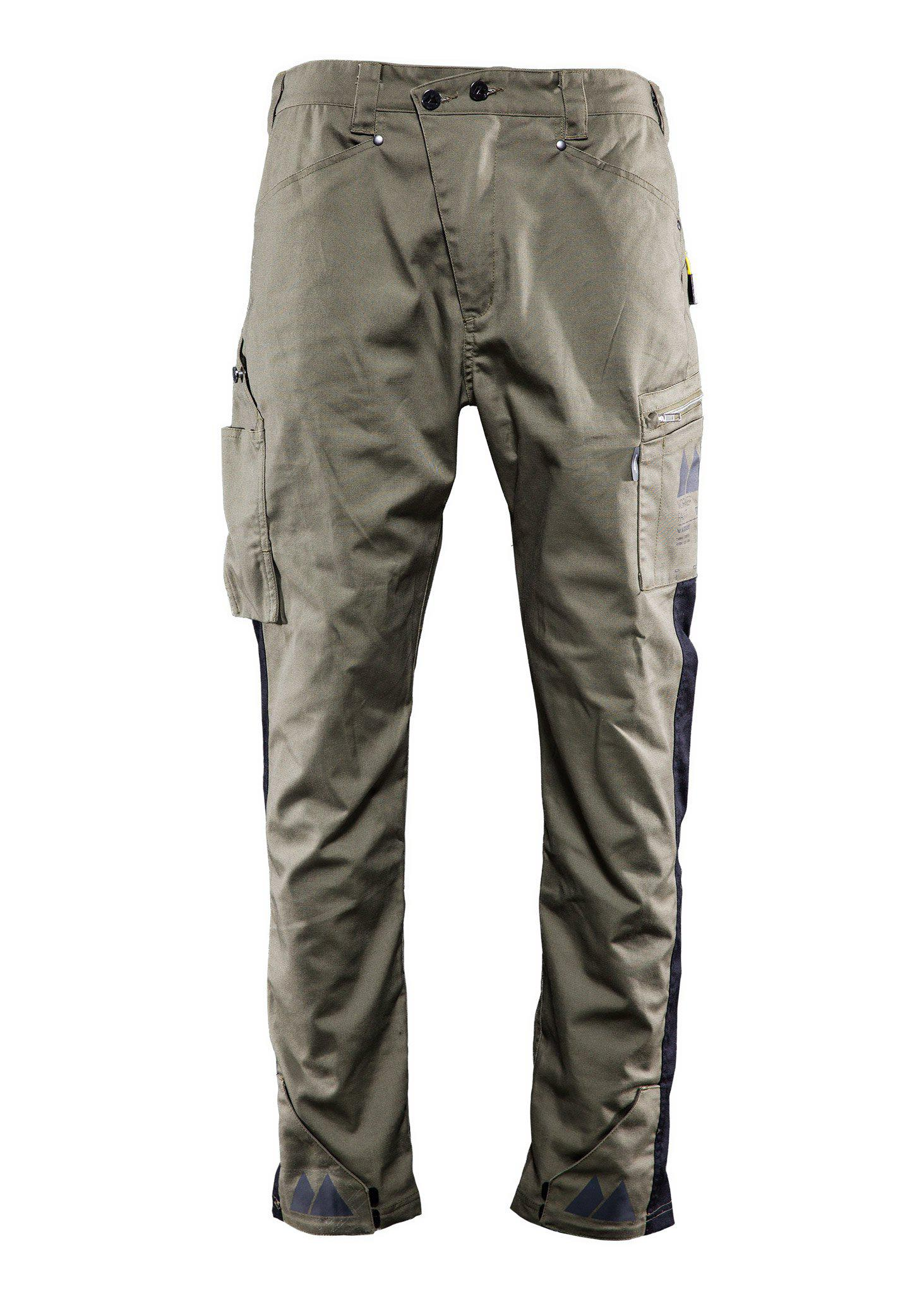 Worker pant, Casual pant, Burnt olive green, M