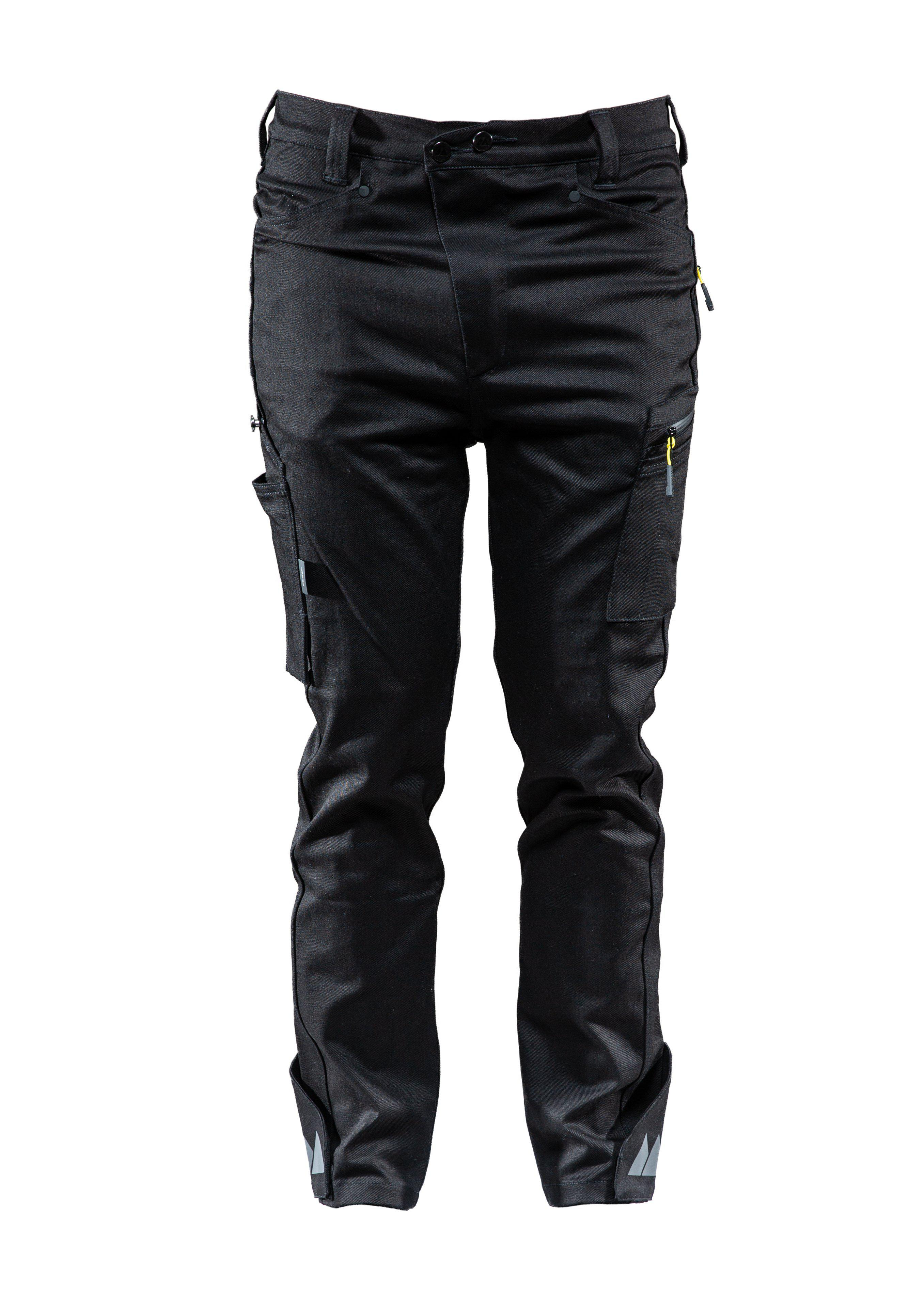 Worker Denim pant, Casual pant, Caviar black, XL