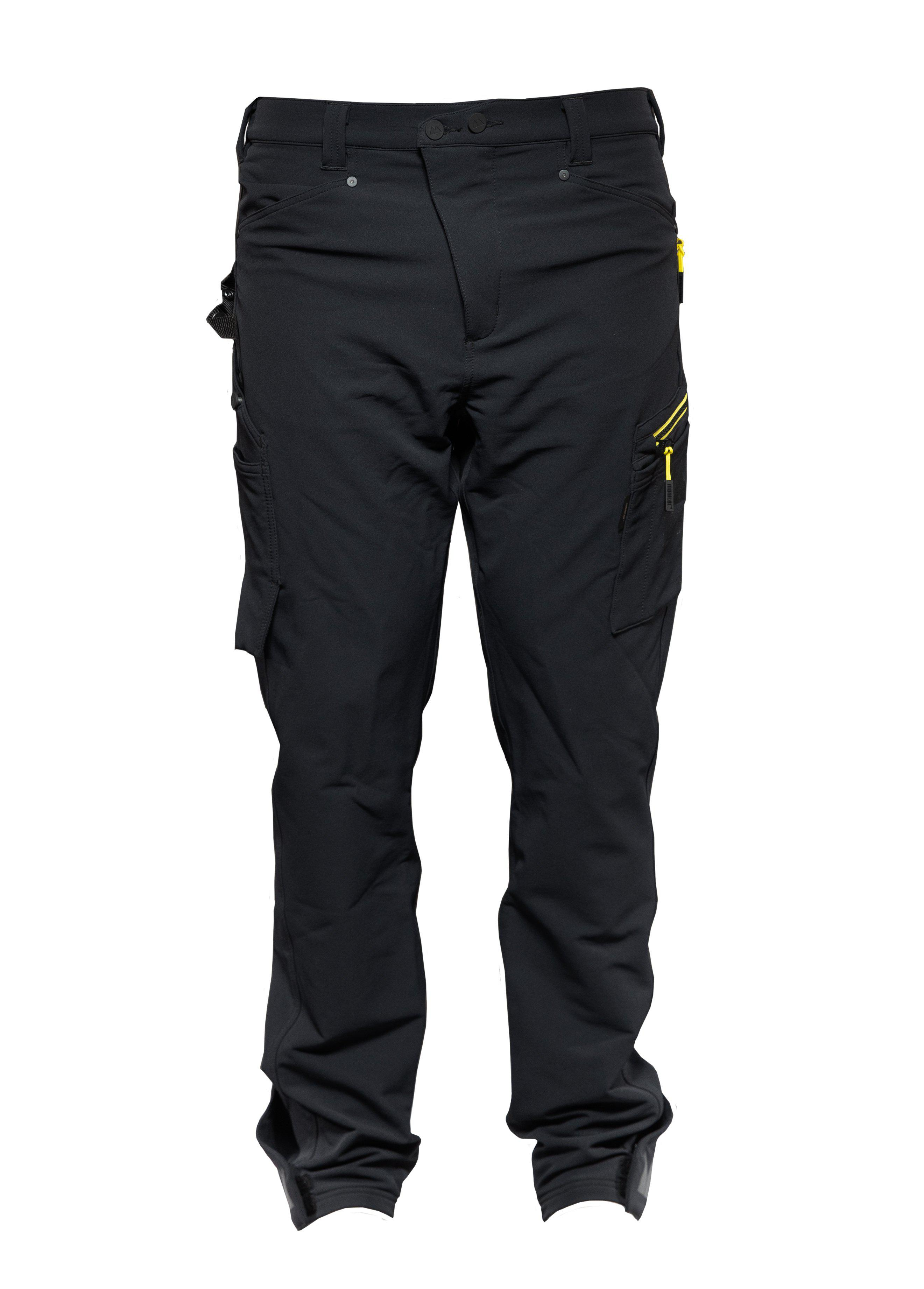 Worker 4ws pant, Casual pant, Caviar black, XXL