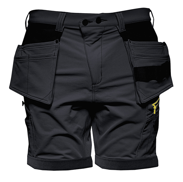 Monitor Versatile 4ws shorts, Carpenter shorts, Caviar black