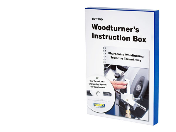 Tormek TNT-300 Woodturner's Instruction Box (på engelska)