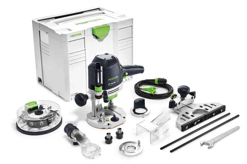 Festool Handöverfräs OF 1400 EBQ-Plus + Box-OF-S 8/10x HW