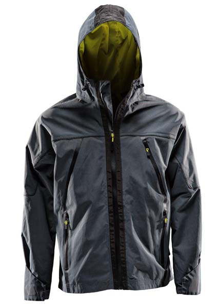 Monitor Shell jacket, Wind jacket, Anthracite grey