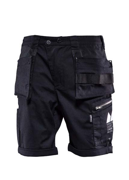 Monitor Versatile shorts, Carpenter shorts, Caviar black