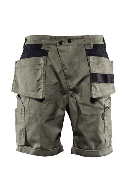 Monitor Versatile shorts, Carpenter shorts, Burnt olive green