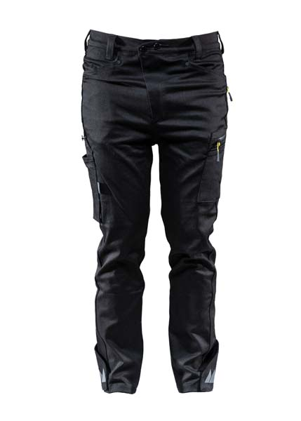 Monitor Worker Denim pant, Casual pant, Caviar black