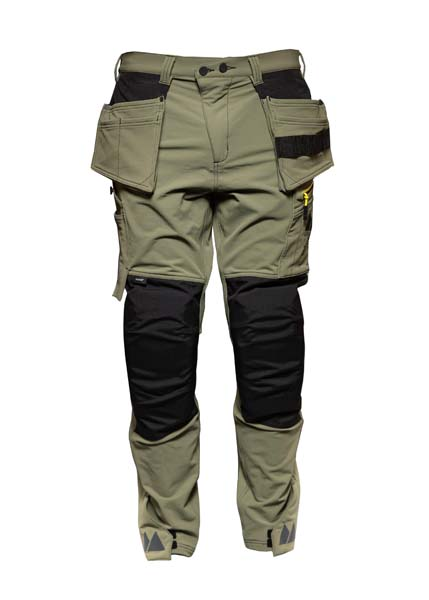Monitor Versatile 4ws pant, Carpenter pant , Burnt olive green